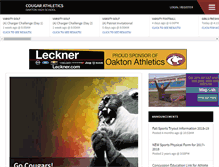Tablet Preview of oaktonathletics.org